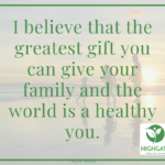 Give yourself the gift of well-health